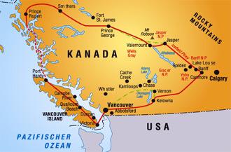 Kanada Der Westen 2002 Klaus Edda S Reise Und Wanderseiten